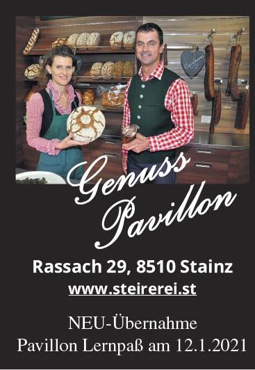 NEU: GenussPavillon in Rassach